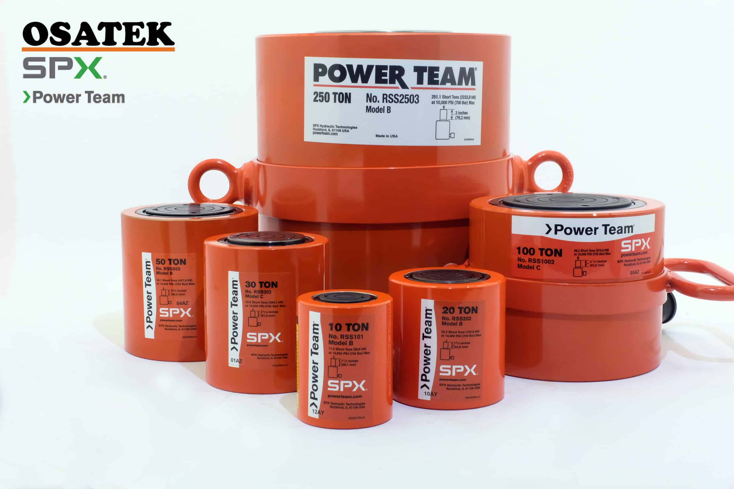 Power Team RSS cylinders