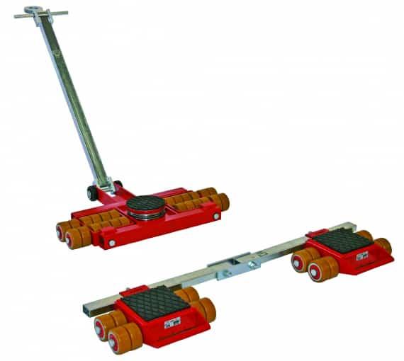JUNG JL 10 K JFB 10 K siirtorullastolla painavat taakat liikkuvat helposti