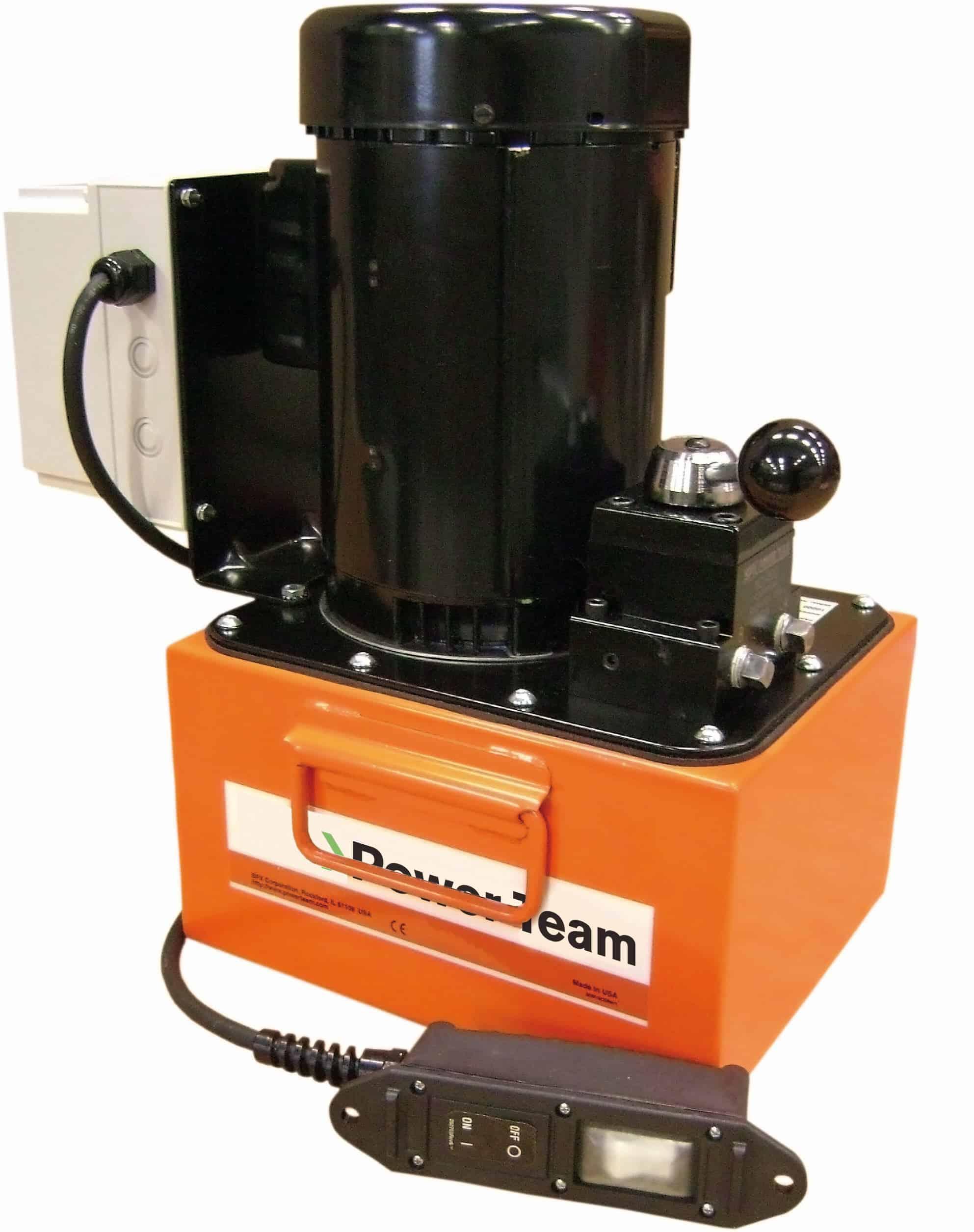 PE46 sarjan pumpuissa öljyä riittää vaativaan hydrauliikka käyttöön.