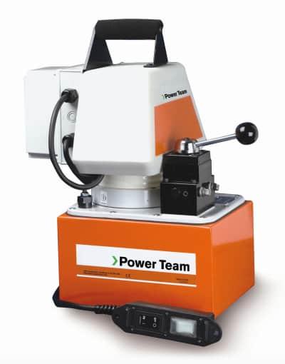 PE554-E220 on tehokas ja monipuolinen hydraulipumppu huoltoon ja tuotantoon.