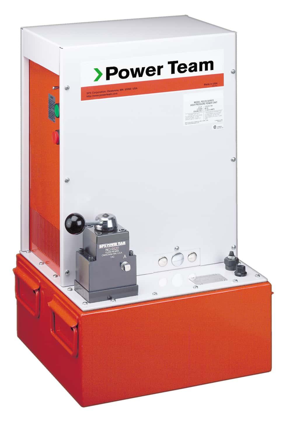 PQ603 on tuotantolaitosten paineentuottaja