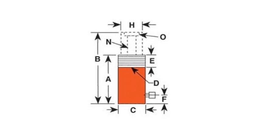 Power Team RH sylinteri reikäsylinteri