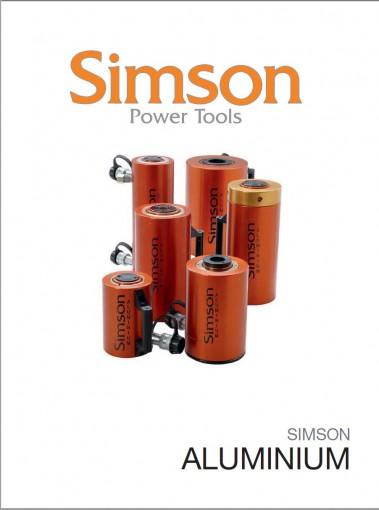 Simson alumiinisylinterit ovat kevyitä ja korroosionkestäviä.