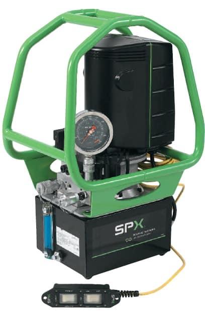 spx bolting hydraulinen pumppu momentti vääntimille ja mutterin murskaimille