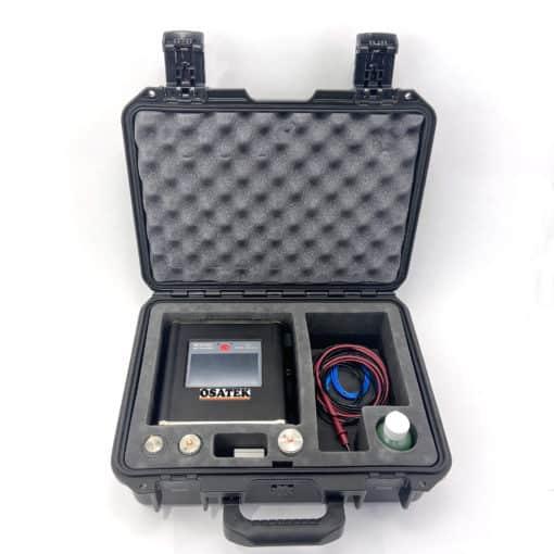 Delta Sigma on pulssikaikua ja ultraääntä käyttävä kulkuaikamittauslaite